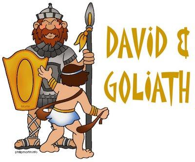 David & Goliath clean
