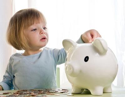 novac devojcica