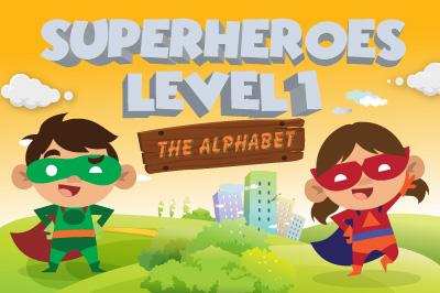 Superheroes Level 1